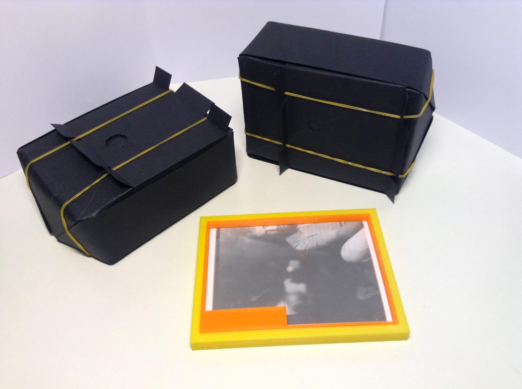 Pin-Hole, a caixinha mágica, oficina de fotografia