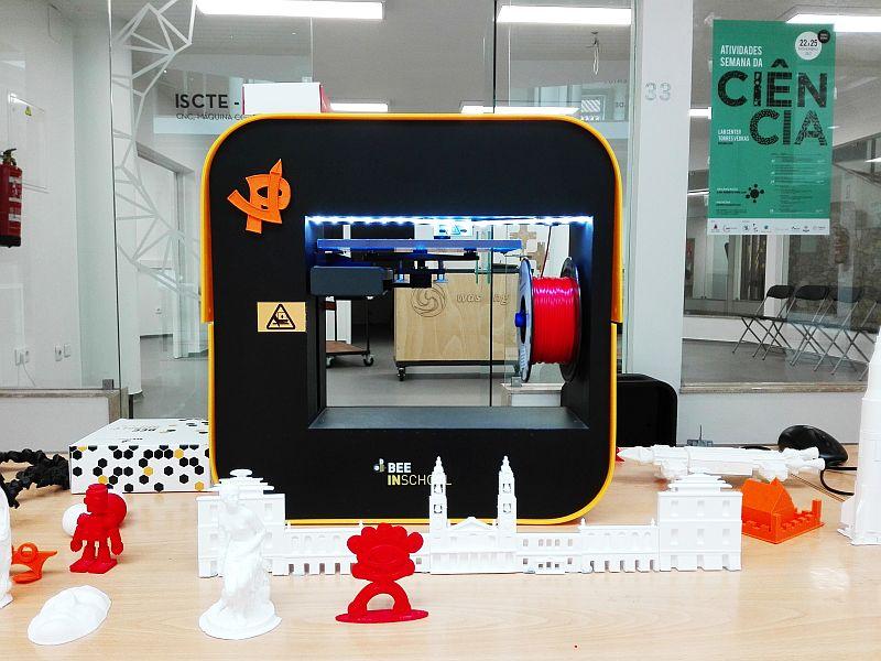 O 3D e Robótica na Semana da Ciência