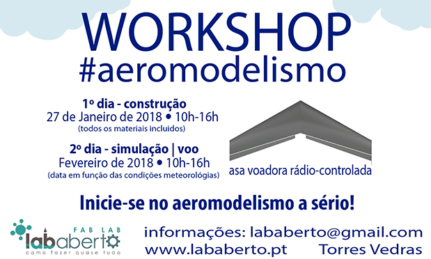 Workshop de Aeromodelismo
